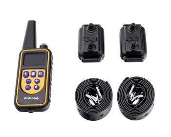 Электронный ошейник  для дрессировки собак L-880-2 (макс. 65 см) (для 2-х собак)