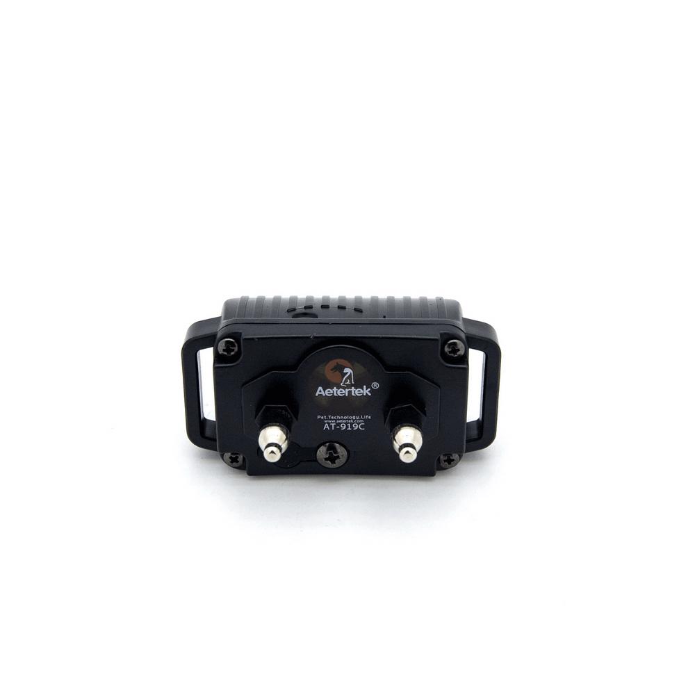 Электронный ошейник для дрессировки собак + антилай Aetertek AT-919C-1 (до 65 см) - 4